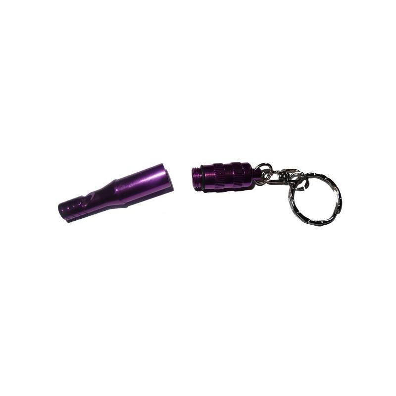 Sifflet de secours avec capuchon violet CAO