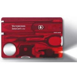 SwissCard Lite Victorinox rouge