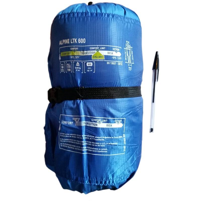 sac de couchage de type duvet millet alpine ltk 600. Black Bedroom Furniture Sets. Home Design Ideas