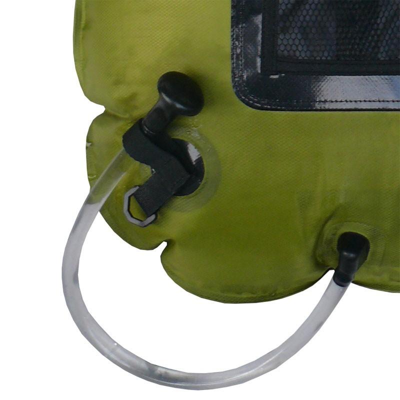 douche chauffe eau solaire cao pour le camping et la randonn e. Black Bedroom Furniture Sets. Home Design Ideas