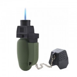 Briquet Highlander Turboflame Military vert