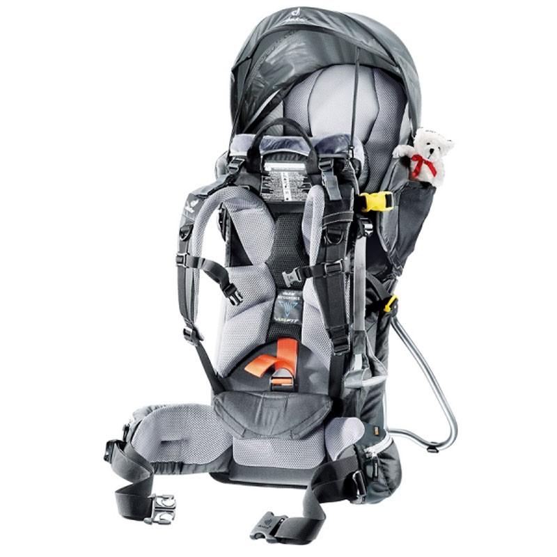 Porte-bébé Deuter Kid Comfort 3 avec pare-soleil intégré