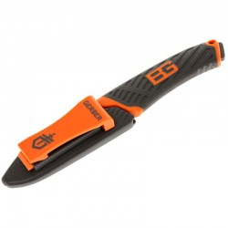 Couteau Bear Grylls Compact Fixed Blade à tranchant mixte