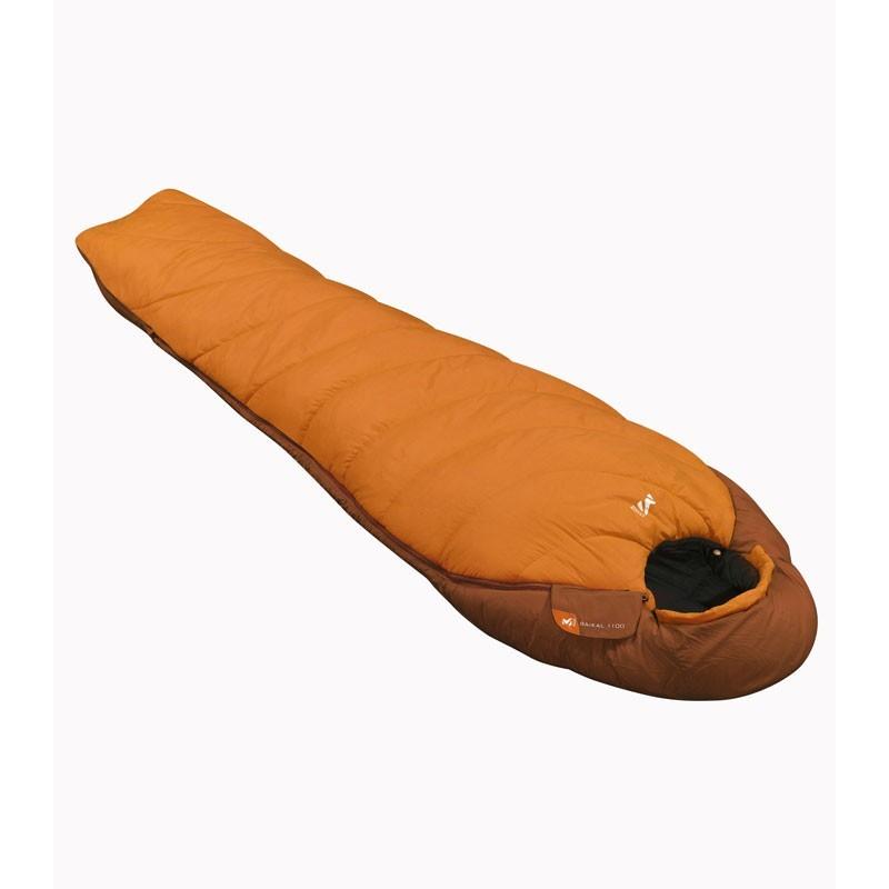 Photo, image du sac de couchage Baïkal 1100 orange en vente