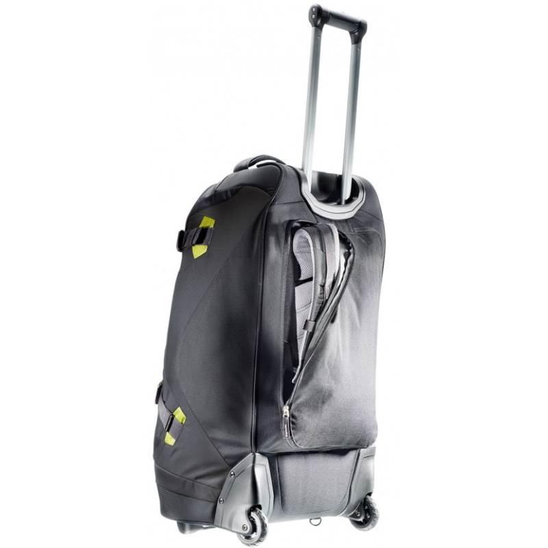 sac de voyage deuter helion 60 avec roulettes et bretelles. Black Bedroom Furniture Sets. Home Design Ideas