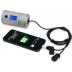 Batterie étanche Powermonkey Explorer 2 Powertraveller bleue