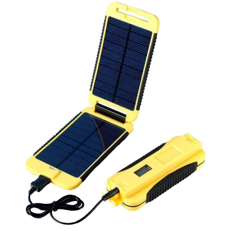 Panneau solaire + batterie Powermonkey Extreme Powertraveller jaune