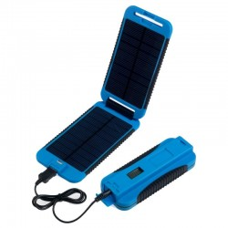 Panneau solaire + batterie Powermonkey Extreme Powertraveller bleu