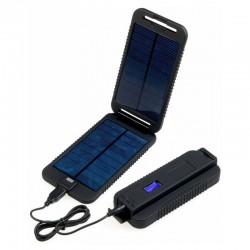 Panneau solaire + batterie Powermonkey Extreme Powertraveller noir