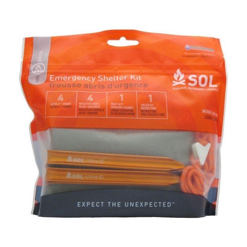 Photo, image de l'abri de survie Emergency Shelter Kit en vente