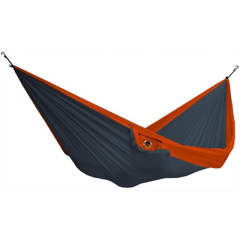 hamac simple en toile de parachute ticket to the moon gris. Black Bedroom Furniture Sets. Home Design Ideas