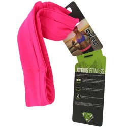 Ceinture 3 poches Xtens Fitness Wantalis rose