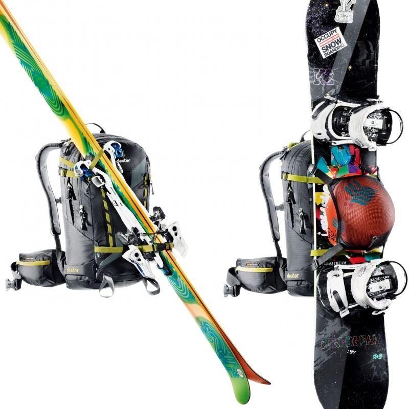 sac dos ski freerider pro 28 sl deuter pour femme. Black Bedroom Furniture Sets. Home Design Ideas