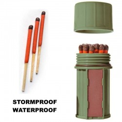Boîte étanche + allumettes étanches UCO Stormproof Match Kit