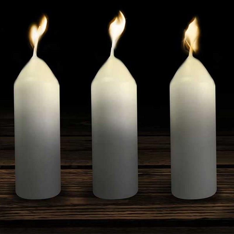 Pack de 3 bougies pour lanterne original UCO