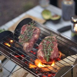 Barbecue pliable UCO Flatpack Grill & Firepit