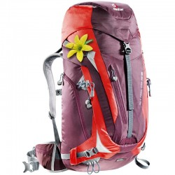 Sac à dos Deuter ACT Trail Pro 38 SL Aubergine Fire
