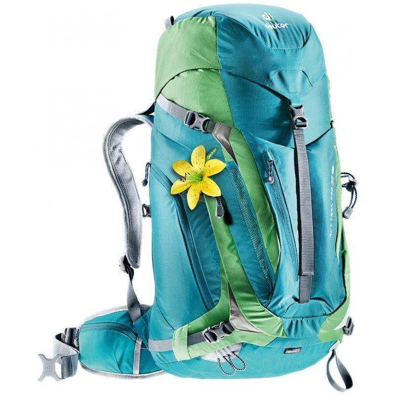 Sac à dos Deuter ACT Trail Pro 38 SL Petrol Avocado