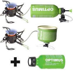 Réchaud multi-combustibles & bidon Fuel Optimus Polaris Optifuel