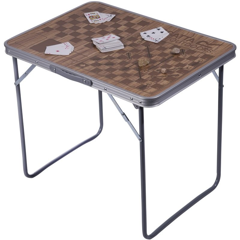 table de camping pliante regatta games avec pieds pliables. Black Bedroom Furniture Sets. Home Design Ideas