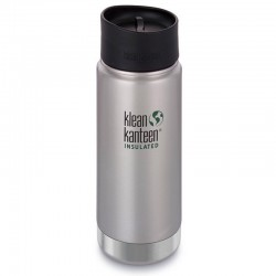 Gourde isotherme Klean Kanteen 0,47L Wide Insulated inox