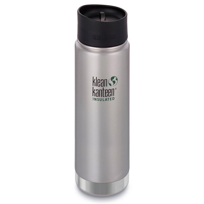 Gourde isotherme Klean Kanteen Wide Insulated 0,6L inox