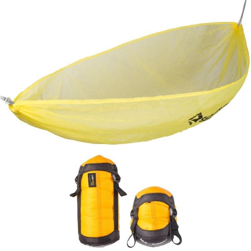 Hamac simple Ultralight Hammock Sea to Summit jaune