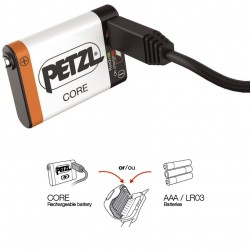 Batterie rechargeable Petzl Core Hybrid
