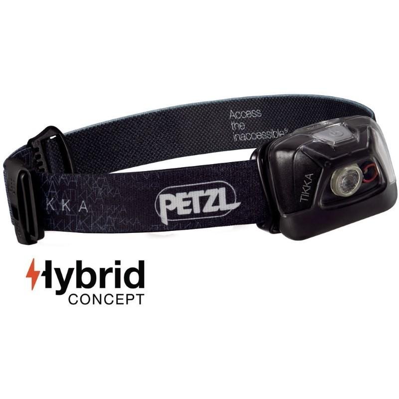 Lampe frontale Petzl Tikka Hybrid noire
