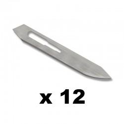 12 lames de rechange Gerber Vital Replacement Blades
