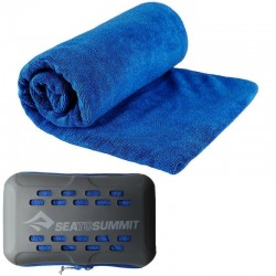 Serviette microfibre L 60x120 Tek Towel Sea to Summit bleu marine
