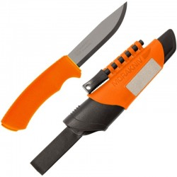 Couteau de survie Mora Bushcraft Survival orange