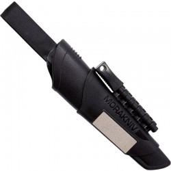 Couteau de survie Mora Bushcraft Survival noir