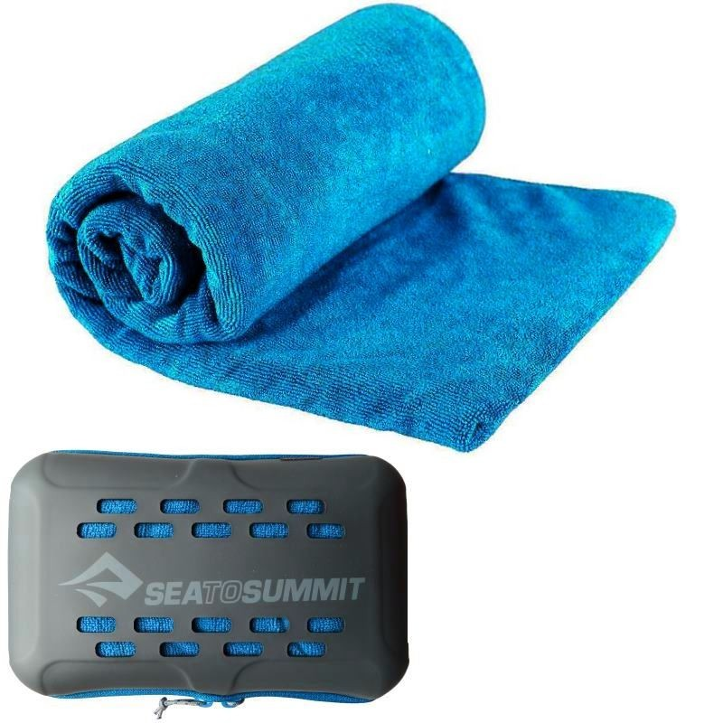 Serviette microfibre S 40x80 Tek Towel Sea to Summit bleu ciel