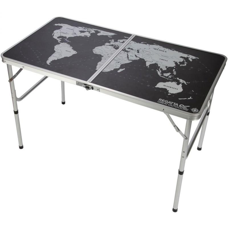 Table de camping pliante regatta folding games - Table pliante pour camping car ...