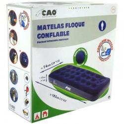 Matelas pneumatique 1place avec gonfleur intégré CAO