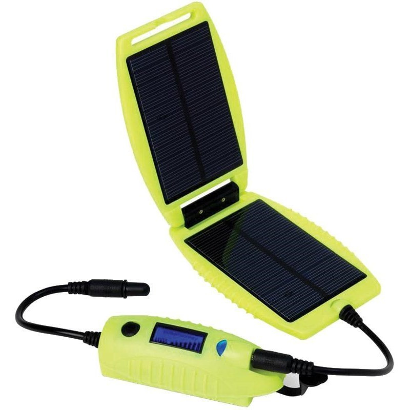 Panneau solaire + batterie Powermonkey Explorer Powertraveller Luminous