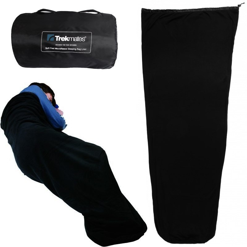 Photo, image du sac à viande Microfleece Sleeping Bag Liner en vente
