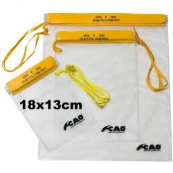 Pochettes imperméables 18x13cm CAO