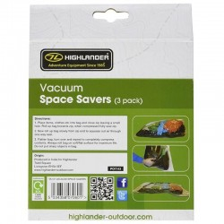 Sac de compression Highlander Vacuum Space Savers