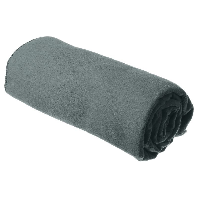 Serviette microfibre M 50x100 Drylite Towel Sea to Summit grise