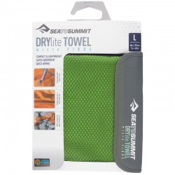Serviette microfibre L 60x120 Drylite Towel Sea to Summit verte