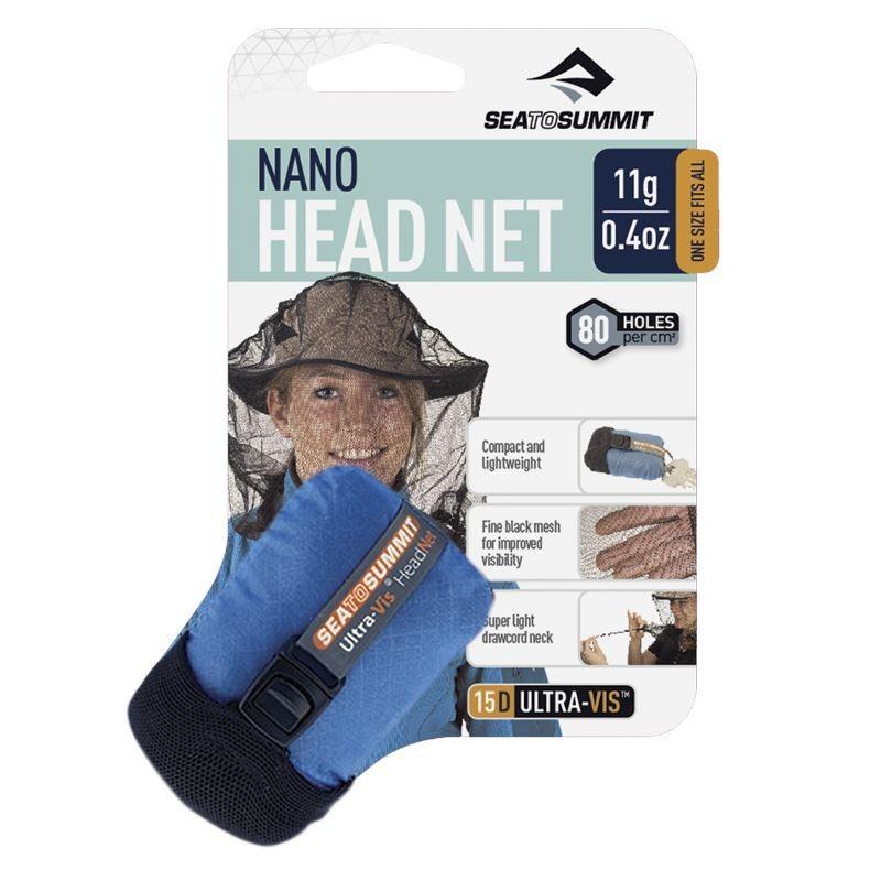 Moustiquaire de tête Nano Headnet Sea to Summit