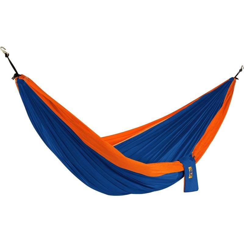 hamac double 2 places ticket to the moon bleu orange. Black Bedroom Furniture Sets. Home Design Ideas