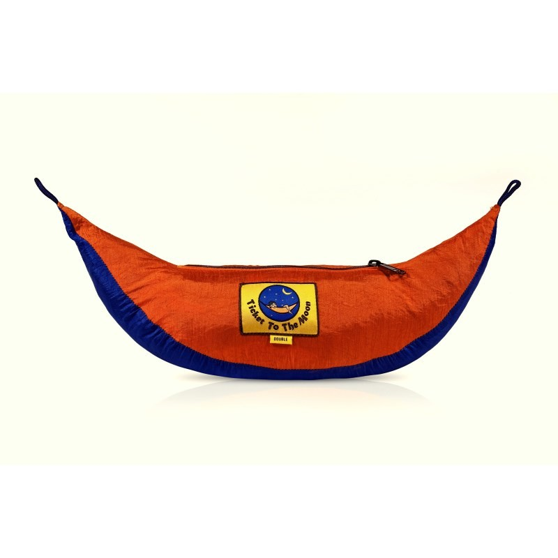 Hamac double 2 places ticket to the moon bleu orange - Hamac ticket to the moon double ...