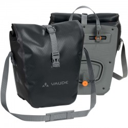 Sacoche avant vélo Vaude Aqua Front noire (lot de 2)