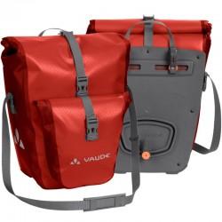 Sacoche arrière vélo Vaude Aqua Back Plus rouge (lot de 2)
