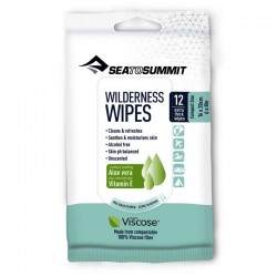 Lingettes lavantes Sea to Summit Wilderness Wipes Taille M (lot de 12)