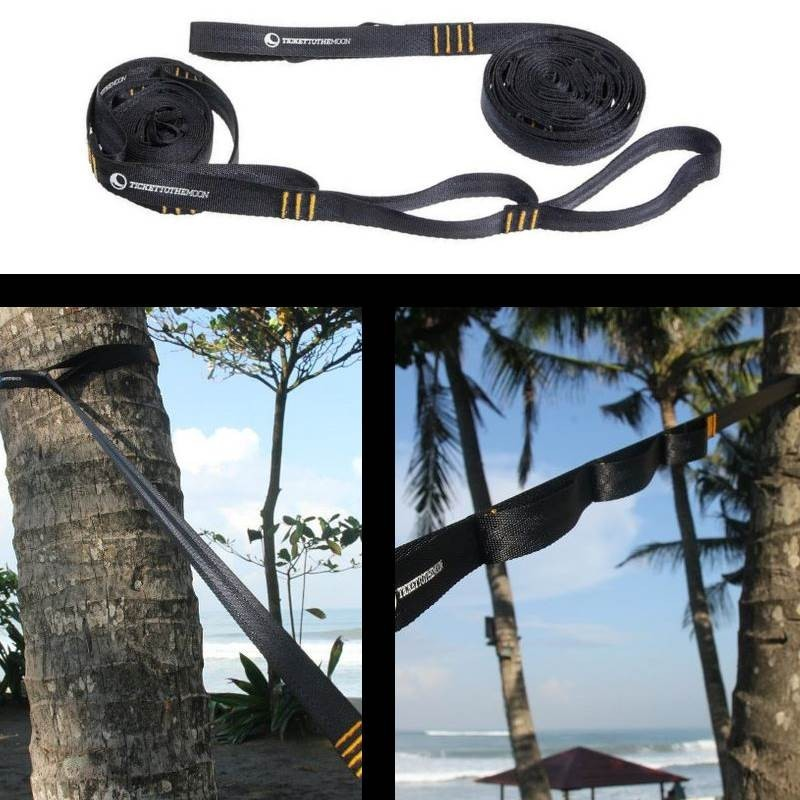 Kit de fixation hamac Ticket To The Moon Tree Friendly Moon Strap