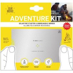 Allume-feu solaire et miroir Solar Brother Adventure Kit